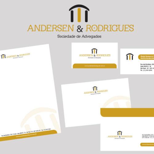 Identidade Visual Andersen e Rodrigues