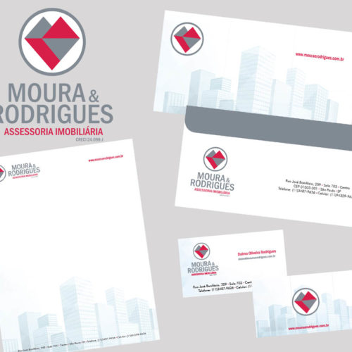 Identidade Visual Moura e Rodrigues