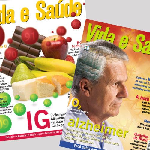Diagramação Revista Vida e Saúde